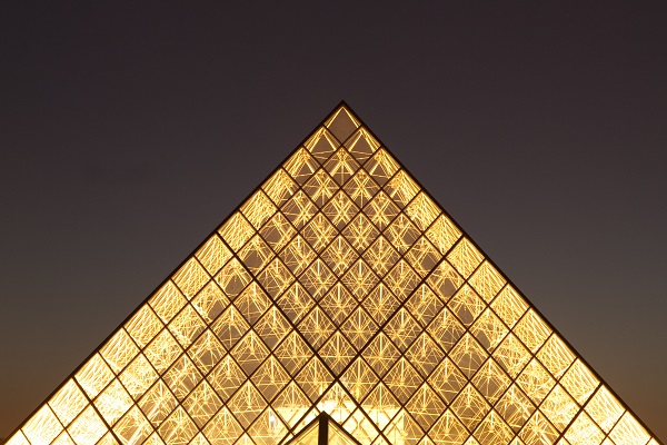 Picture of Le Louvre Museum in Paris, France by Jesús Rosas