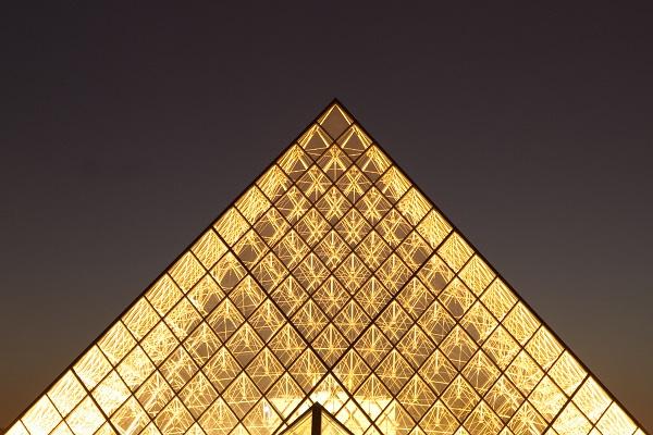 Picture of Le Louvre Museum in Paris, France by Jesús Rosas