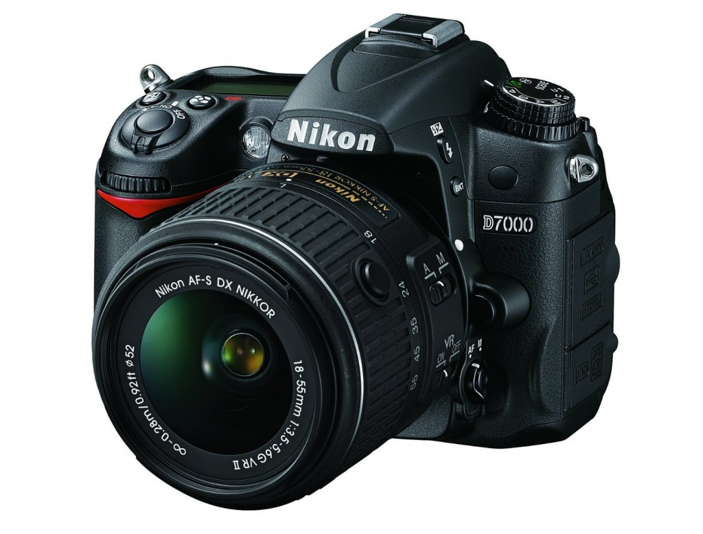 Image of a Nikon D7000 DSLR camera