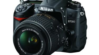 Image of a Nikon D7000 DSLR camera