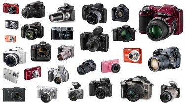 Image with several digital cameras